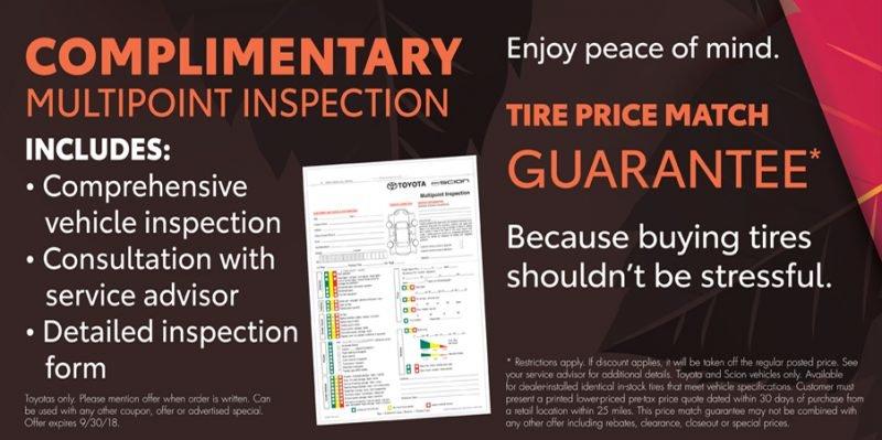September Multi Point Inspection